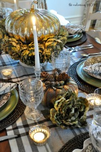 Thanksgiving Tablescape 2015